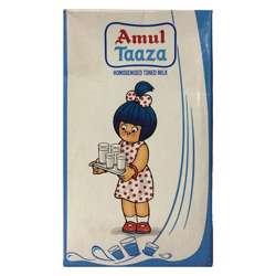 Amul UHT Taza Milk (12x1ltr)