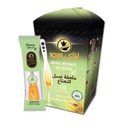 Al Malaky Royal Honey Spoon Mint (24x10x7g)