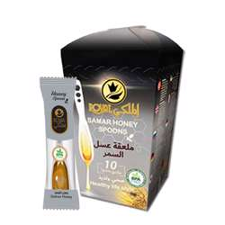 Al Malaky Royal Honey Spoon White (24x10x7g)