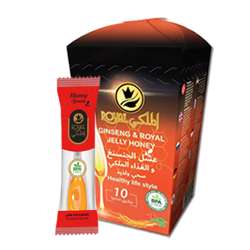 Al Malaky Royal Honey Spoon Ginseng (24x10x7g)