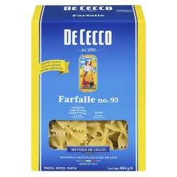 De Cecco Farfalle Pasta (12x1kg)