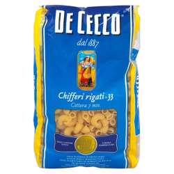 De Cecco Pasta Chifferi Rigati / Macaroni (24x500g)
