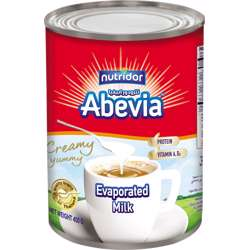 Abevia Evaporated Milk 16x(3x400g)