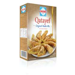 Greens Qatayef Mix with Sugar Syrup (12x550g)