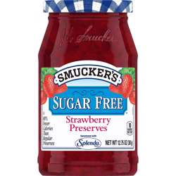 Smuckers Sugar Free Splenda Berry Preserve (8x12.75oz)