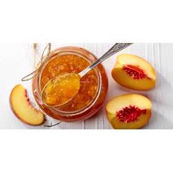 Melody Peach Jam Jar (12x450g)