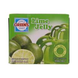Greens Jelly Lime (6x12x80g)