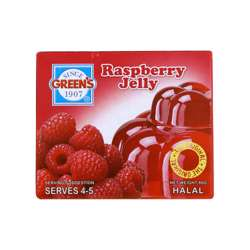 Greens Jelly Raspberry (6x12x80g)
