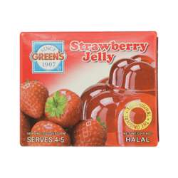 Greens Jelly Strawberry (6x12x80g)