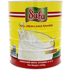 Safa Instant Milk Powder Tin (6x2.5 kg)