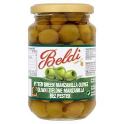 Beldi Green Olives (12x200g)