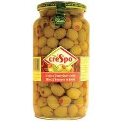 Crespo Green Olive Stuff with Pimento Paste (6x550g)