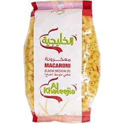Al Khaleejia Elbow Macaroni (K-710) (20x400g)