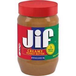 Jif Creamy Peanut Butter (12x454g)