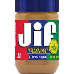 Jif Crunchy Peanut Butter (12x454g)