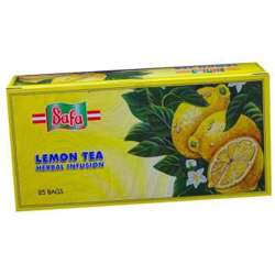 Safa Lemon Tea Bags (36x25x2g)