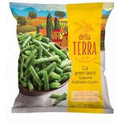 Della Terra Green Beans Cut (25x400g)
