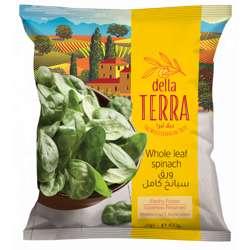 Della Terra Spinach (25x400g)