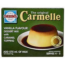 Greens Cream Caramel Topping (12x12x70g)