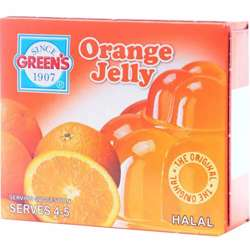 Greens Jelly Orange (6x12x80g)
