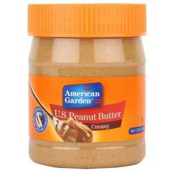 American Garden Creamy Peanut Butter (12x12oz)