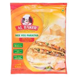 Al Baker Vegetable Paratha (24x400g)