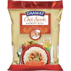 Daawat Basmati Rice Chef''s Secretz Royal (2x10kg)