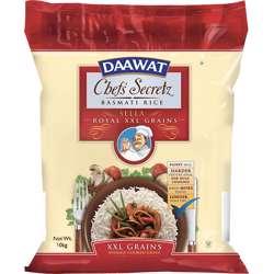Daawat Basmati Rice Chef''s Secretz Sella (2x10kg)