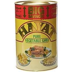 Hayat Ghee Tins Veg Ghee 1Yr (6x2.5kg)