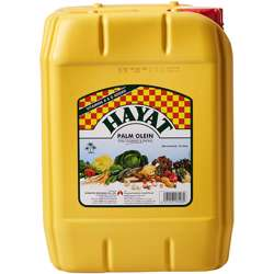 Hayat Vegetable Oil Jerry Can (1x10ltr)