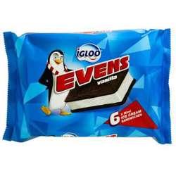 Igloo Milk Based Vanilla Ice Cream (8x30x50ml)