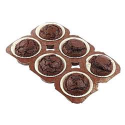 Pristine Mini Muffin Chocolate (100x35g)