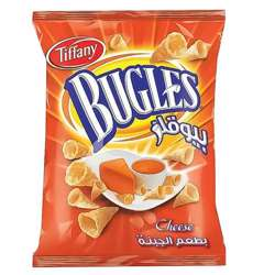 Tiffany Bugles Cheese Flavour Potato Chips (50x13g)