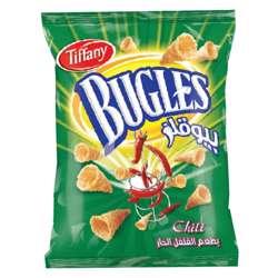 Tiffany Bugles Chilli Flavour Potato Chips (50x13g)