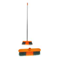 Delcasa DC1082 Broom with PVC Coated Wooden Handle
