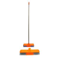 Delcasa DC1084 Broom with PVC Coated Wooden Handle