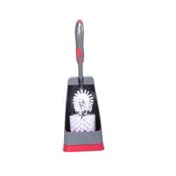 Delcasa DC1610 Toilet Brush with Holder Grey
