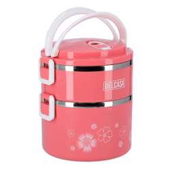Delcasa DC1620 2 Layer Lunch Box 1700ml