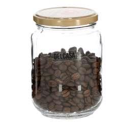 Delcasa DC1753 600ml 6Pc Glass Storage Jar