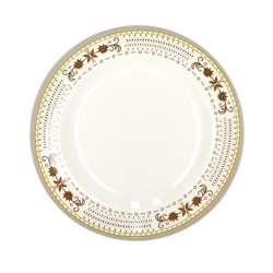 "Delcasa DC1786 Round Deep Soup Plates 8"""