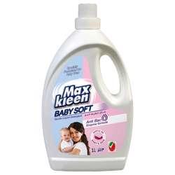 Maxkleen Liquid Detergent Baby Soft (12x1Ltr)