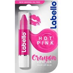 Labello Hot Pink Crayon Lipstick 3gm