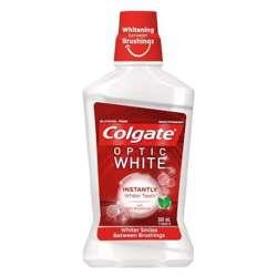 Colgate Optic White Mouthwash 500ml (1x12Pcs)