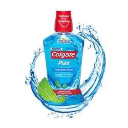 Colgate Plax Peppermint Mint Mouthwash - 500ml (1x12Pcs)