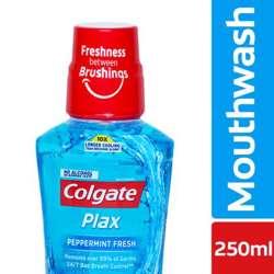 Colgate Plax Peppermint Mouth Wash 250ml (1x12Pcs)