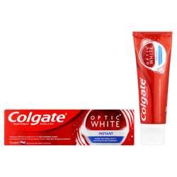 Colgate Toothpaste 75ml Optic White Instant (1x48Pcs)