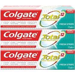 Colgate Total 12 Fresh Stripe 75ml (1x48Pcs)