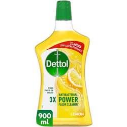Dettol Lemon Floor Ceaner 900ml (1x12Pcs)