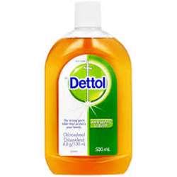 Dettol Liquid Spray 500ml (1x12Pcs)