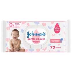 Jonhson''s Baby Wipes 72 Pcs (1x12Pcs)